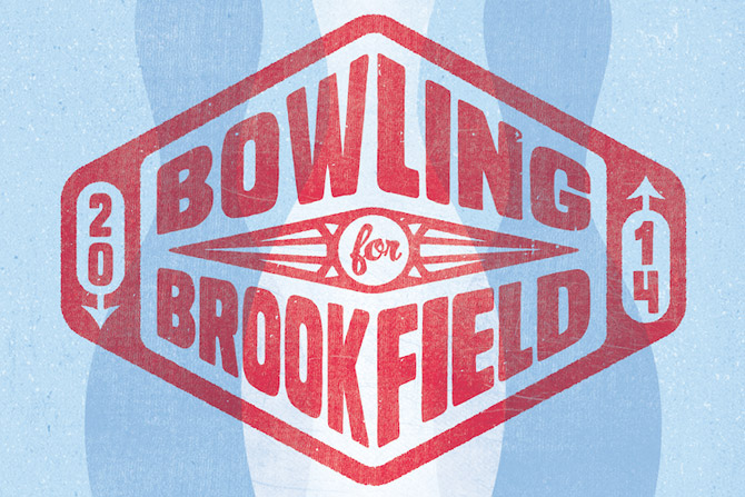 Bowling for Brookfield 2014 logo